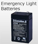 Emergency Light Batteries