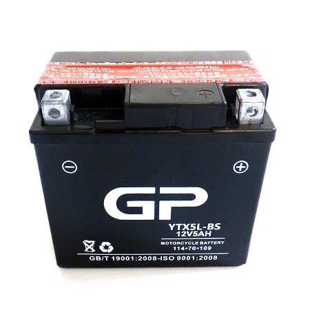GP5L-BS Dry Charge Battery (12V 4 5AH)