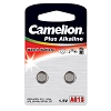 Camelion AG13 Alkaline Button Cell 2 Pack