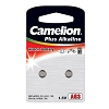 Camelion AG3 Alkaline Button Cell 2 Pack