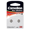 CamelionAG9 Alkaline Button Cell 2 Pack