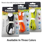 3 In 1 USB Sync and Charging Cable