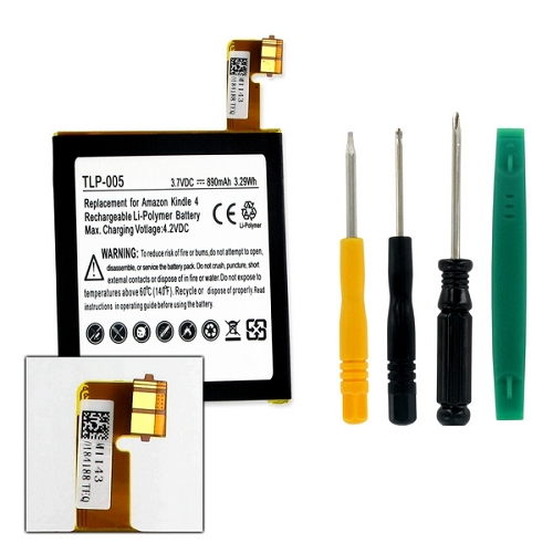 TLP-005 Amazon Kindle 4 4G 5 6 Replacement Battery | batteriesandthings com