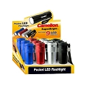 Superbright 9 LED Flashlight Display of 12