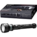 3 Watt Cree Rechargeable Flashlight with Red warning Strip