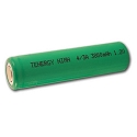 4/3 A Ni-MH 3800 mAh Flat Top Cell