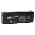 Universal Power 12 Volt 2.20 Amp AGM Sealed Lead Acid with F1 Terminal