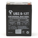 Universal Power 12 Volt 2.90 Amp AGM Sealed Lead Acid with F1 Terminal