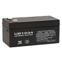 Universal Power 12 Volt 3.40 Amp AGM Sealed Lead Acid with F1 Terminal