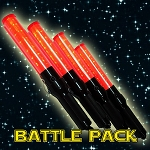 Light Sword Battle Pack - 4 Space Traffic Wands