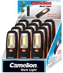 Camelion 3 WATT COB LED Worklight w/ Paddle Display of 12