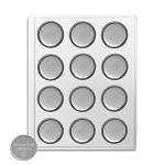 Camelion 3032 3V Lithium Coin Cell Battery Bulk Tray of 12