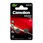 Camelion AG10 Alkaline Button Cell 2 Pack