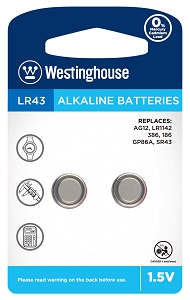 Camelion AG12 Alkaline Button Cell 2 Pack