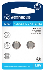 Camelion AG7 Alkaline Button Cell 2 Pack