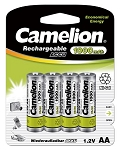 Camelion AA Ni-Cad 1000mAh Solar Light Batteries 4pk Blister