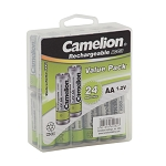 Camelion AA Ni-Cad 1000mAh Solar Light Batteries 24pk Plastic Case
