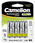 Camelion AA Ni-Cad 600mAh Solar Light Batteries 4pk Blister