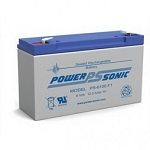 Power Sonic PS-6100 6 Volt 12Ah F1 Terminal