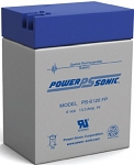 Power Sonic PS-6120 6 Volt 12Ah FP Terminal