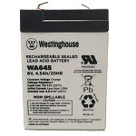 WA645 Sealed Lead Acid Batteries (6V; 4.5 AH)