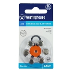Westinghouse Zinc Air A13 Hearing AID Battery