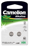 CamelionAG6 Alkaline Button Cell 2 Pack