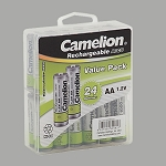 Camelion Ni.Cd. AA 1000mAh Cons. Top 24pk