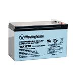 Westinghouse WA1270 Sealed Lead Acid Battery (12V 7Ah)