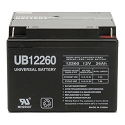 Universal Power 12 Volt 26.00 Amp AGM Sealed Lead Acid with Nut & Bolt Terminal