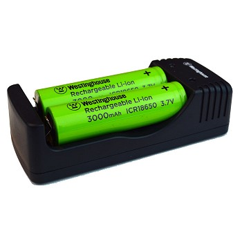 Westinghouse  Charger for 18650 Li-ion Battery