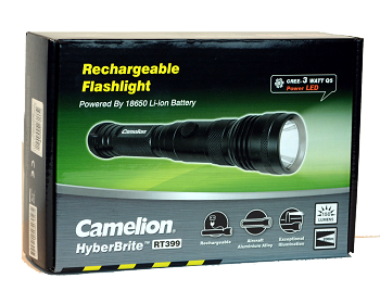 3W Cree Rechargeable Flashlight