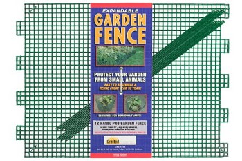 Crafted Products Expandable Modular Garden Fence