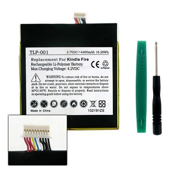 TLP-001 Kindle Fire D04100 Replacement Battery