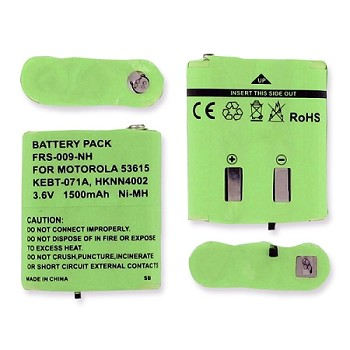 NIMH Battery for MOTOROLA EM1000R, EM1020R, FV500 Replaces Motorla HKNN4002