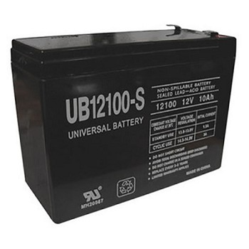 Universal Power 12 Volt 10.00 Amp AGM Sealed Lead Acid with F2 Terminal