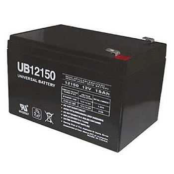 Universal Power 12 Volt 15.00 Amp AGM Sealed Lead Acid with F2 Terminal