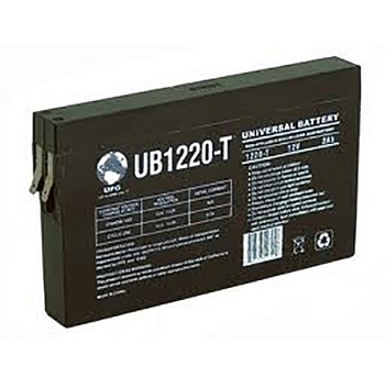 Universal Power 12 Volt 2.00 Amp AGM Sealed Lead Acid with F1 Terminal