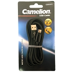Nylon 6FT  Black Micro USB Charging Cord Blister Pack